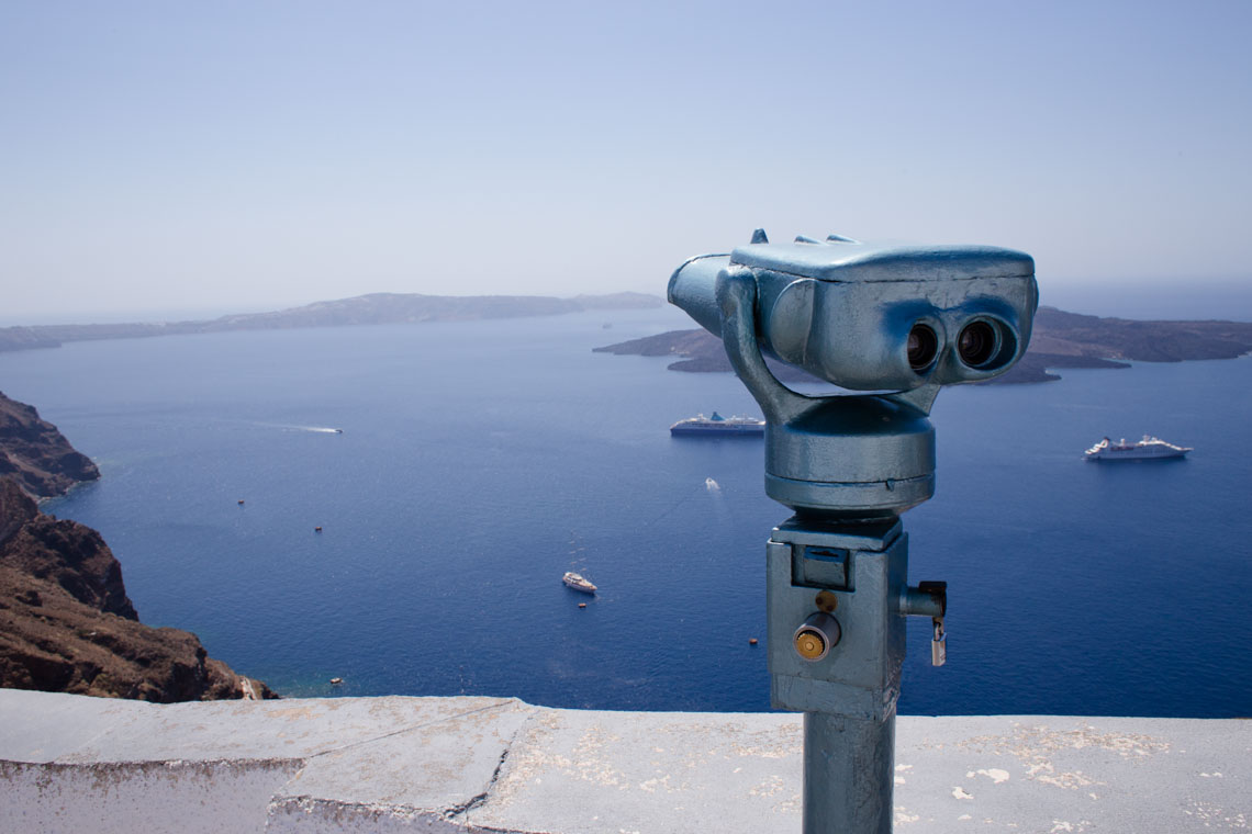 Santorini Viewing Scope