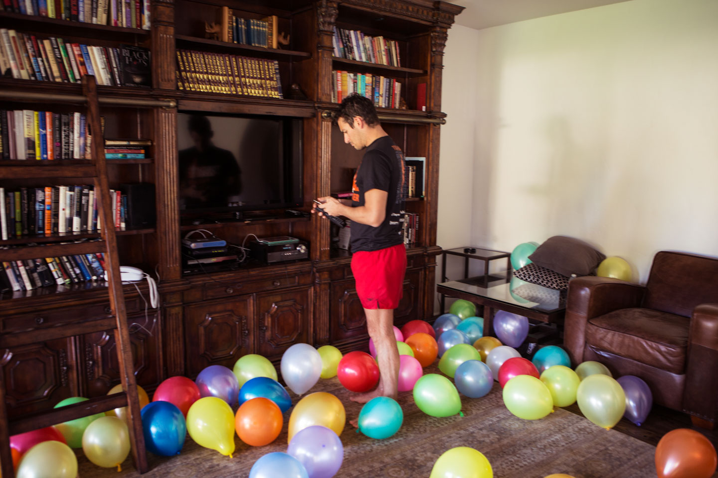 Lost in Balloons